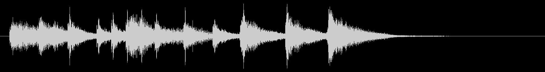 和風1 ゲームクリアの未再生の波形