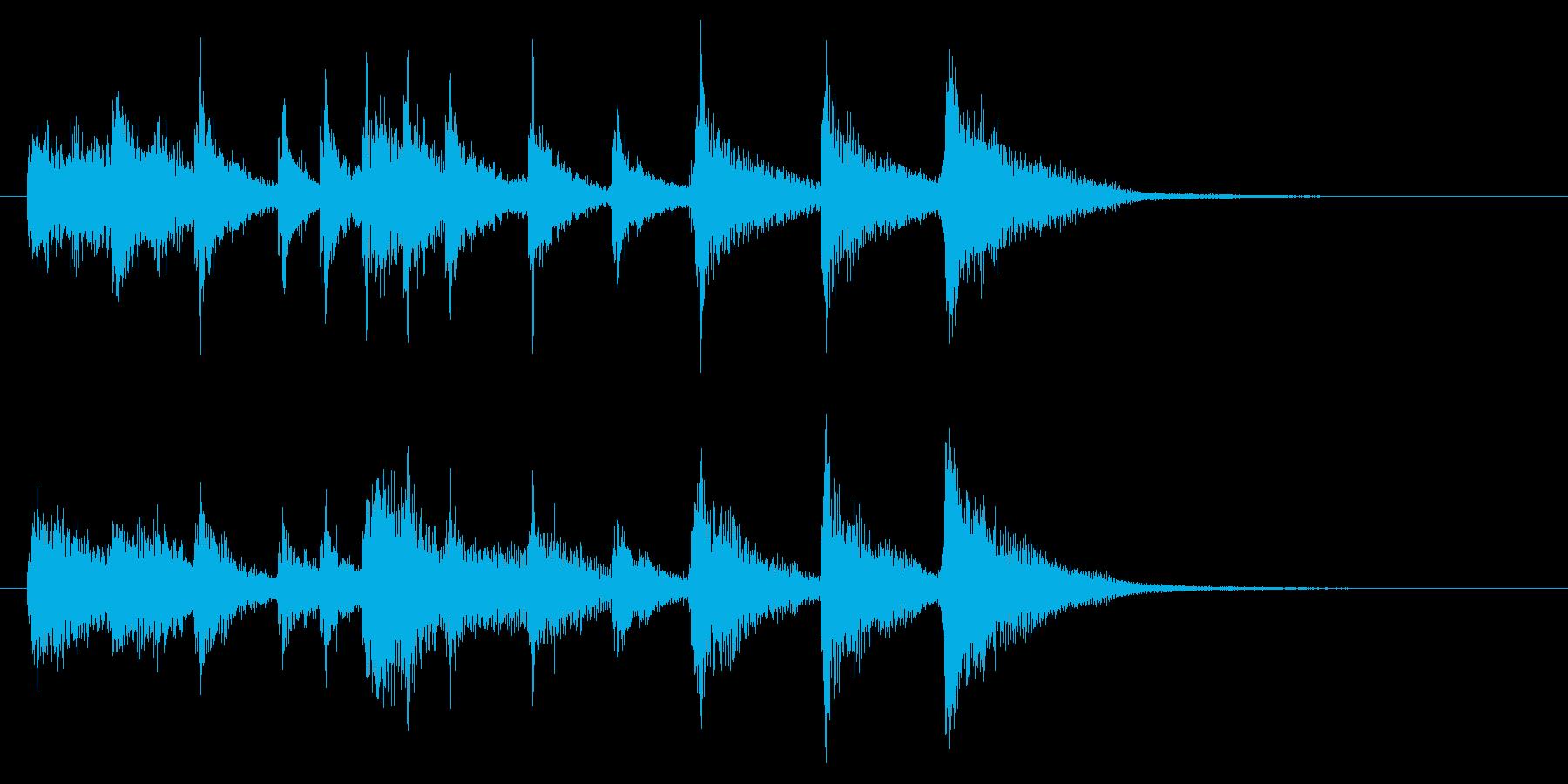 和風1 ゲームクリアの再生済みの波形