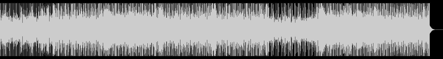 切なくてかっこいいリズムのBGMの未再生の波形
