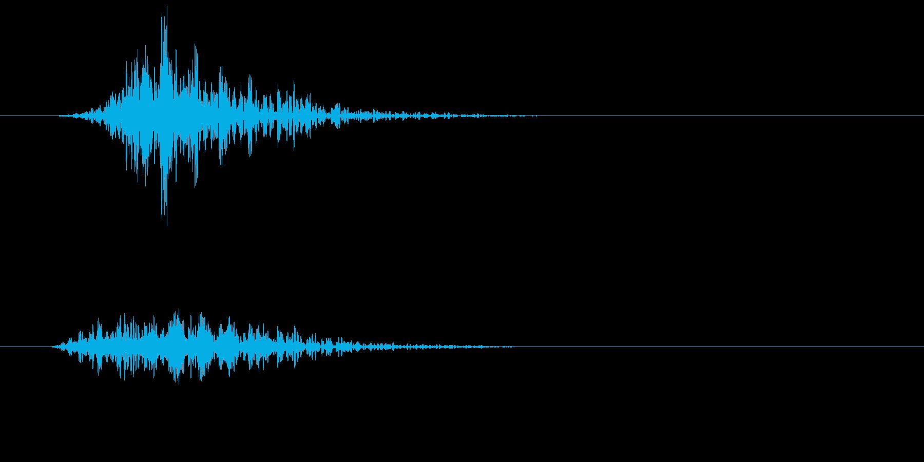 シネマティック 風切り インパクト!13の再生済みの波形