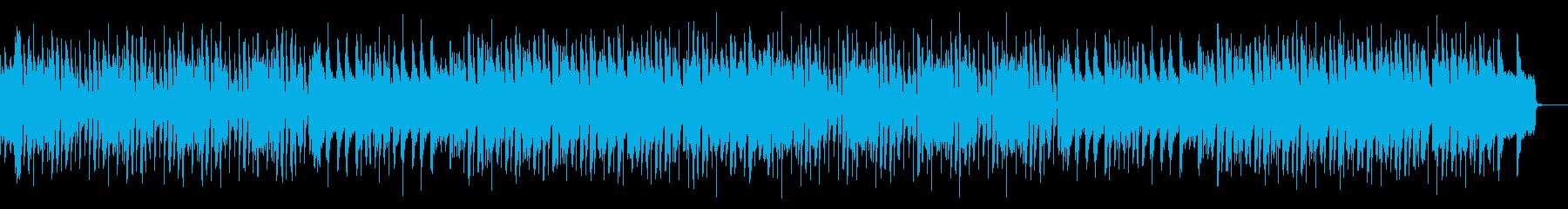 マヌケ、陽気なチップチューンの再生済みの波形
