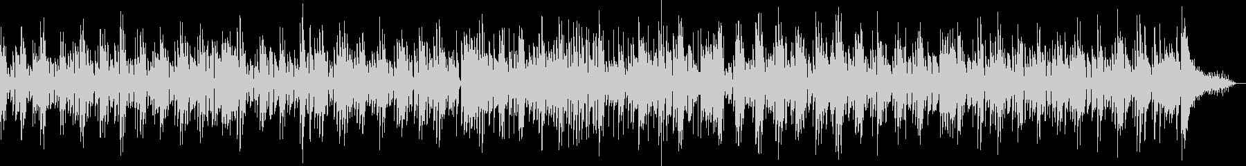 昭和のロカビリーロック,生スライドギターの未再生の波形