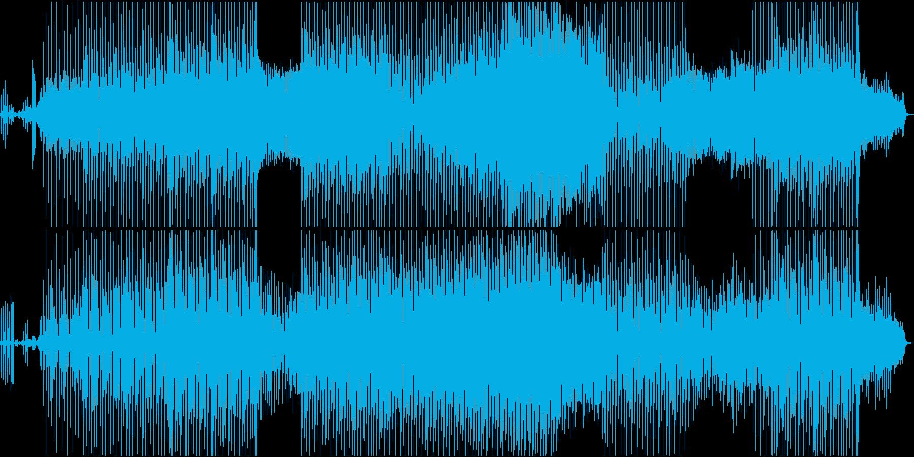 荒々しい雰囲気を放つレトロなサウンドの再生済みの波形
