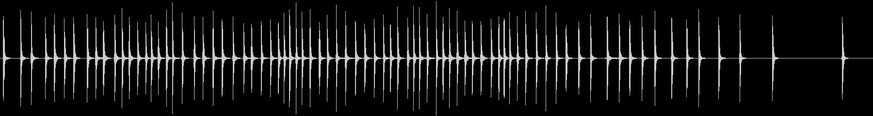 スモールホロークランク:連続巻き上...の未再生の波形