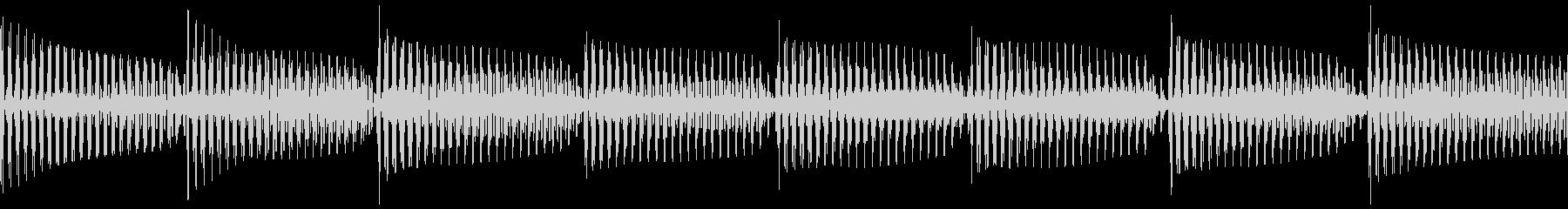ベースピック弾き 4/4 80(ド)1の未再生の波形