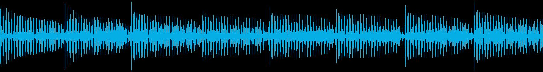 ベースピック弾き 4/4 80(ド)1の再生済みの波形