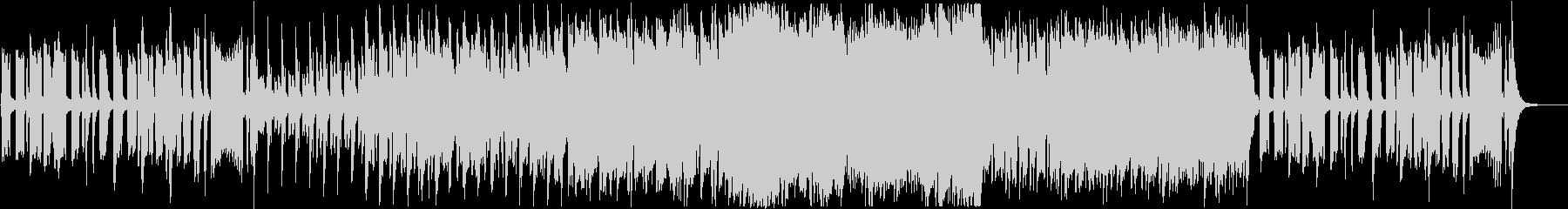 迷子感のあるコミカルなBGMの未再生の波形