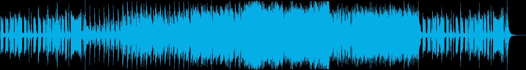 迷子感のあるコミカルなBGMの再生済みの波形