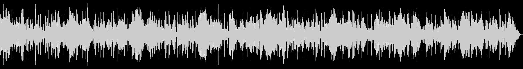 ホラー風BGM 15の未再生の波形