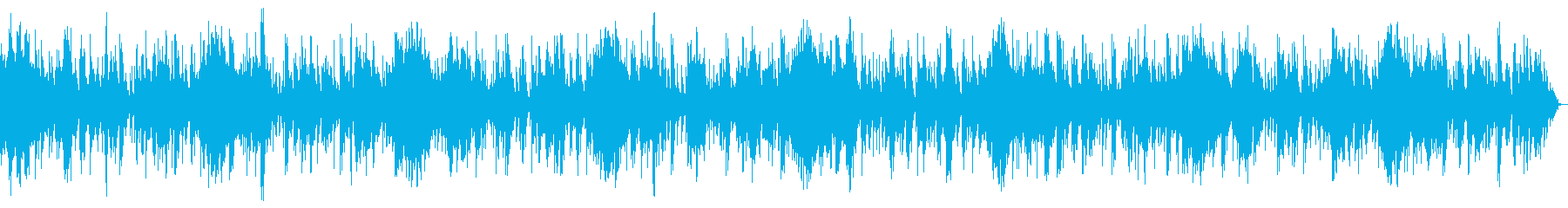 ホラー風BGM 15の再生済みの波形