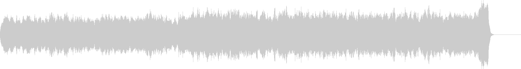 バッハのようなパイプオルガンオリジナル曲の未再生の波形