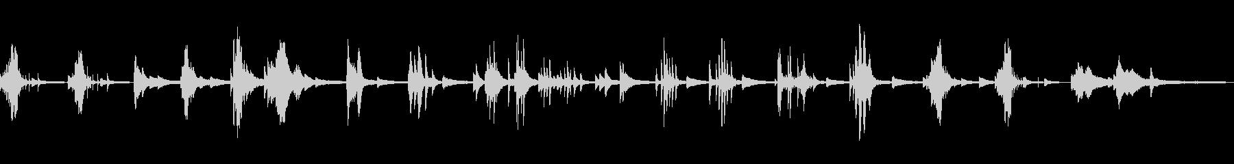 冷たい/静寂/和風の雰囲気14-ピアノ の未再生の波形