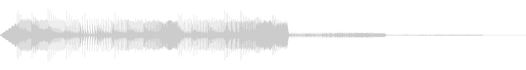 通知(8bit風)の未再生の波形
