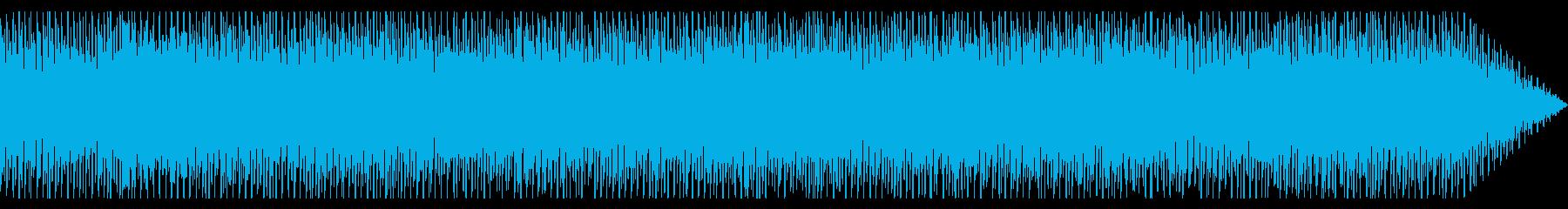 近未来的なエレクトロニカの再生済みの波形