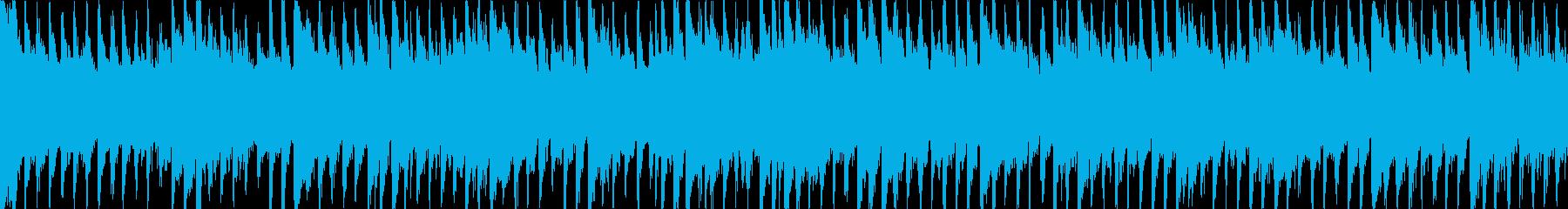 マンドリン、グロッケンシュピール、...の再生済みの波形