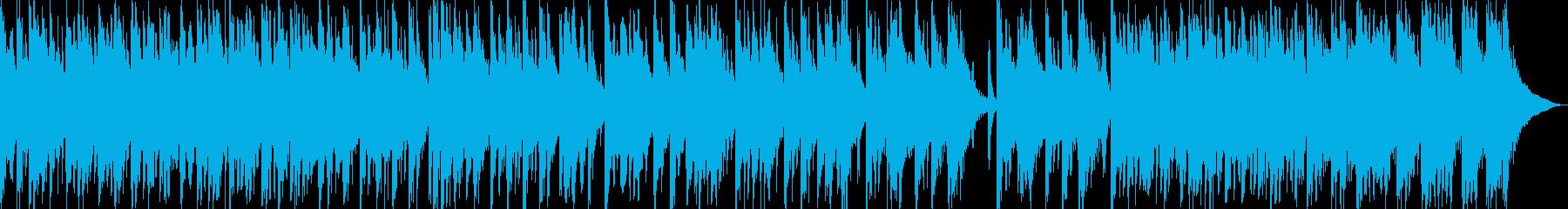 日本伝統音楽5(和太鼓+掛け声)の再生済みの波形