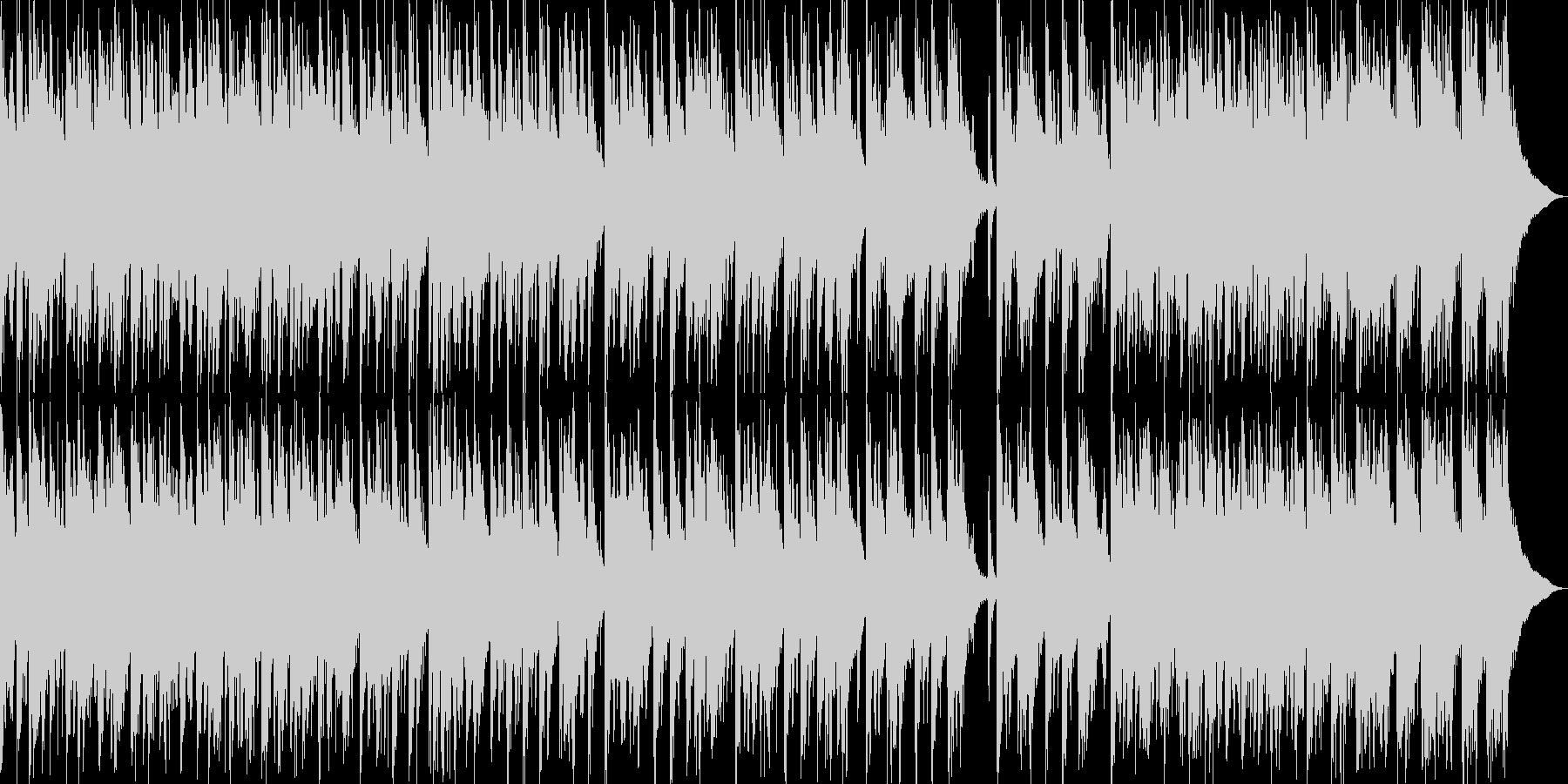 日本伝統音楽5(和太鼓+掛け声)の未再生の波形