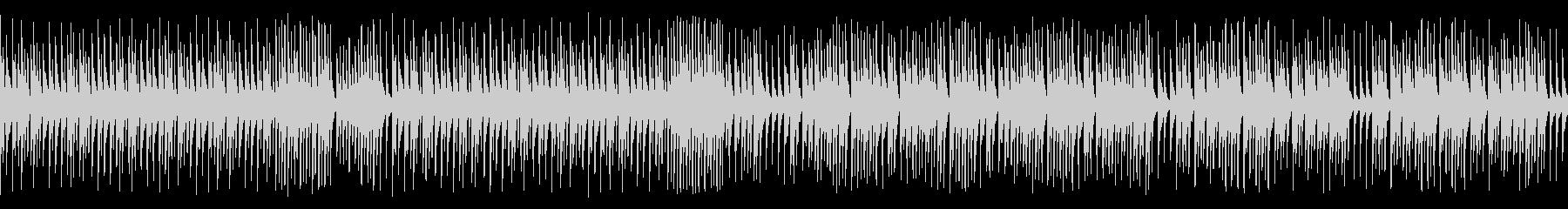 木琴でハッピー高速オールドジャズ(ループの未再生の波形