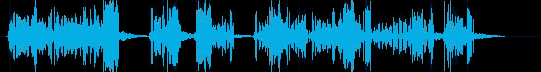 効果音|ロボット対戦[ロング]の再生済みの波形