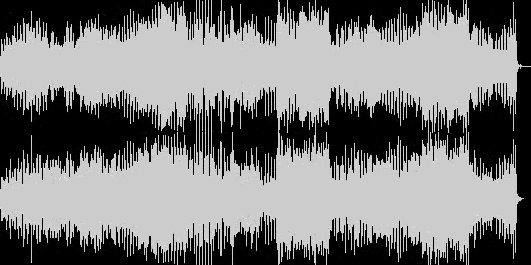 切ないリフが印象的なEDMの未再生の波形