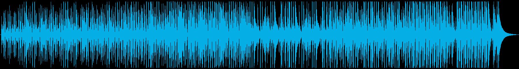Soft jazz pieceの再生済みの波形