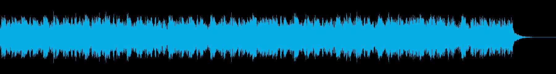 メランコリックで切ないピアノ系BGMの再生済みの波形