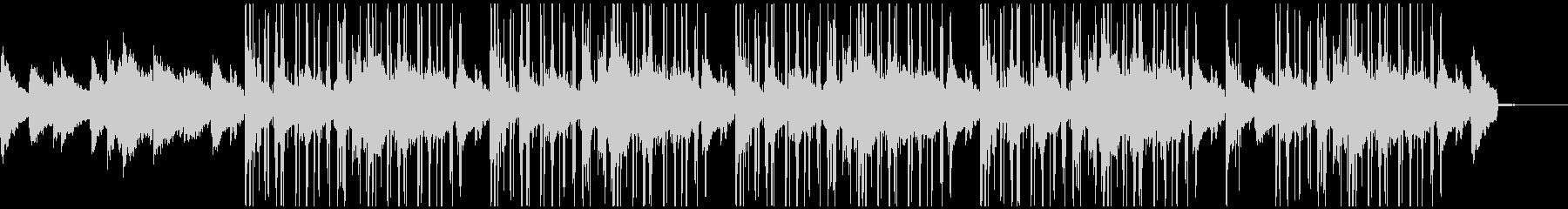 エレピ中心のオシャレなチルアウトBGMの未再生の波形