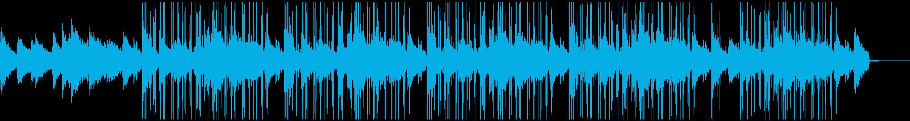 エレピ中心のオシャレなチルアウトBGMの再生済みの波形