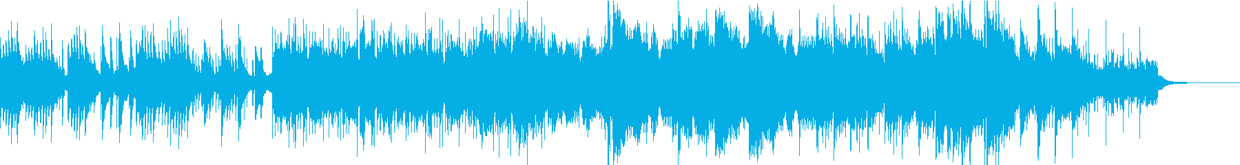 企業VPや自然映像/期待・感動ピアノの再生済みの波形