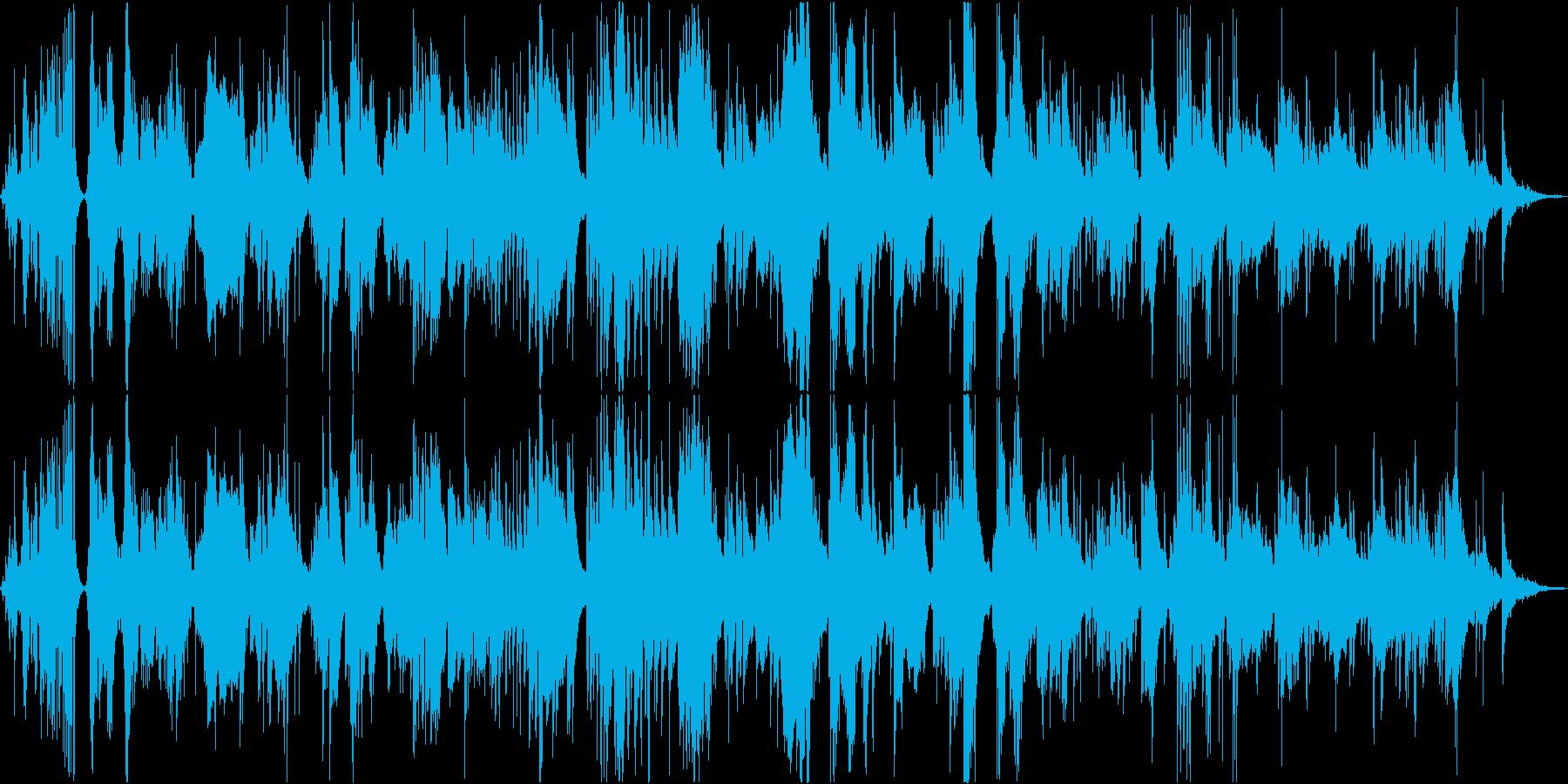 ベースとピアノのテーマサックス。平...の再生済みの波形