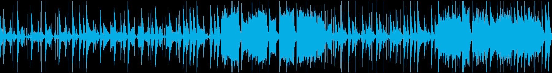 ほのぼの木琴・キッズ・ループ仕様の再生済みの波形
