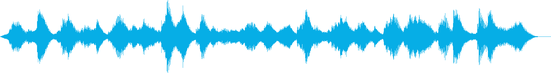 何かが潜んでいるようなホラーアンビエントの再生済みの波形