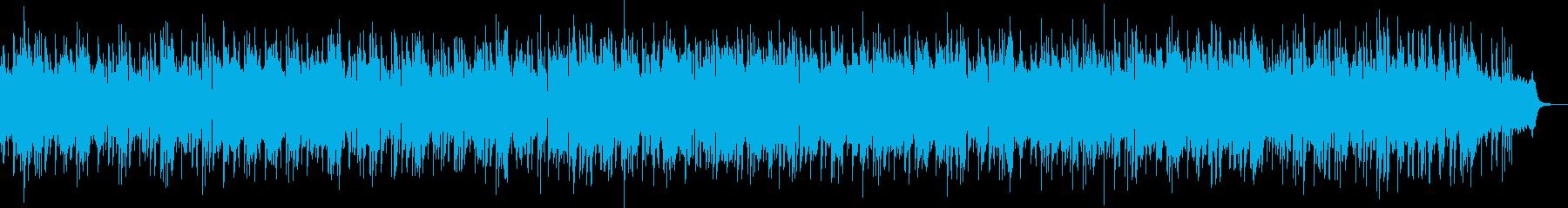 おしゃれで神秘的なメロディーの再生済みの波形