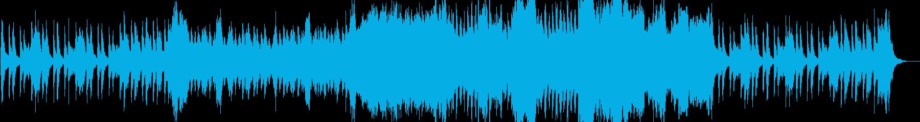 ストリングスによる穏やかな喜びの再生済みの波形