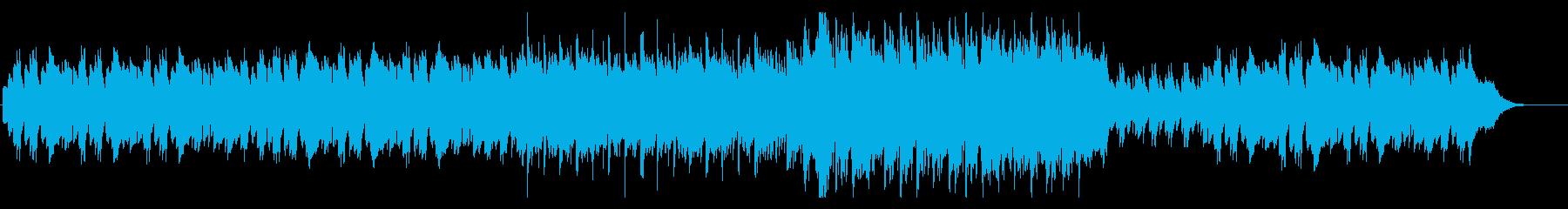 RPG森の遺跡イメージ・怪しげ・壮大の再生済みの波形