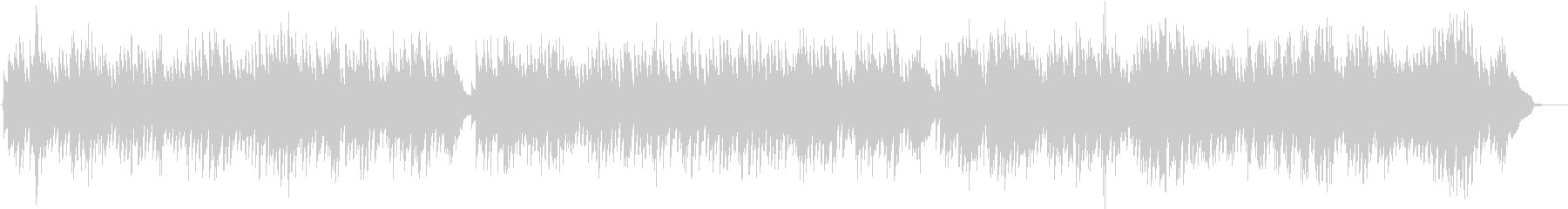 バッハが作るフランス風組曲。の未再生の波形