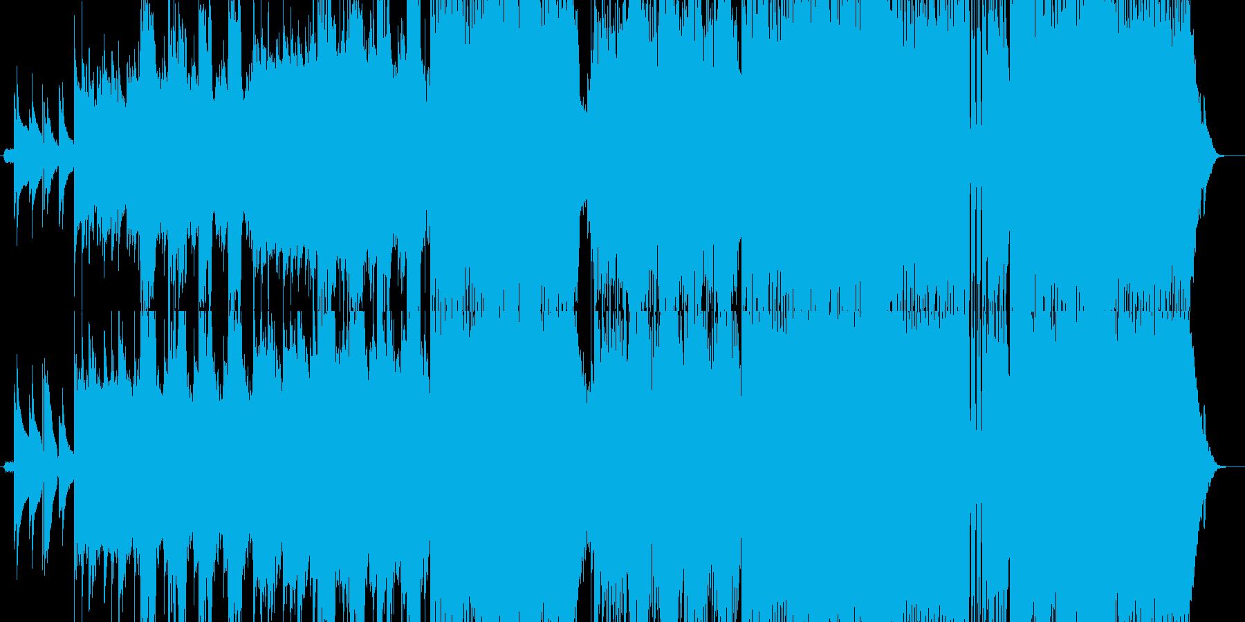 山 川 自然 清涼感あるポストロックの再生済みの波形