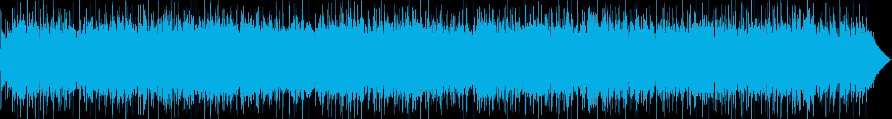 メロディアスなギターのロックポップの再生済みの波形