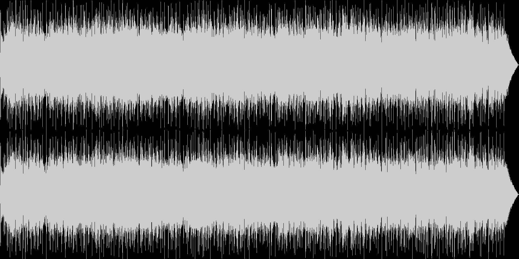 メロディアスなギターのロックポップの未再生の波形