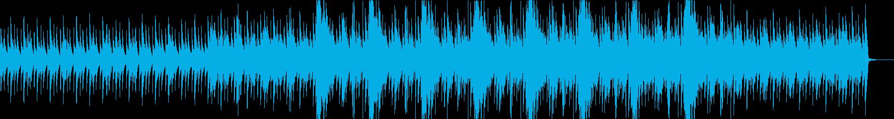 ノイズが印象的/シリアス/ピアノ曲の再生済みの波形