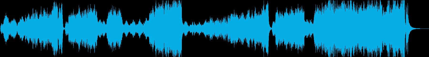 壮大で悲壮感ジブリ映画風オーケストラの再生済みの波形