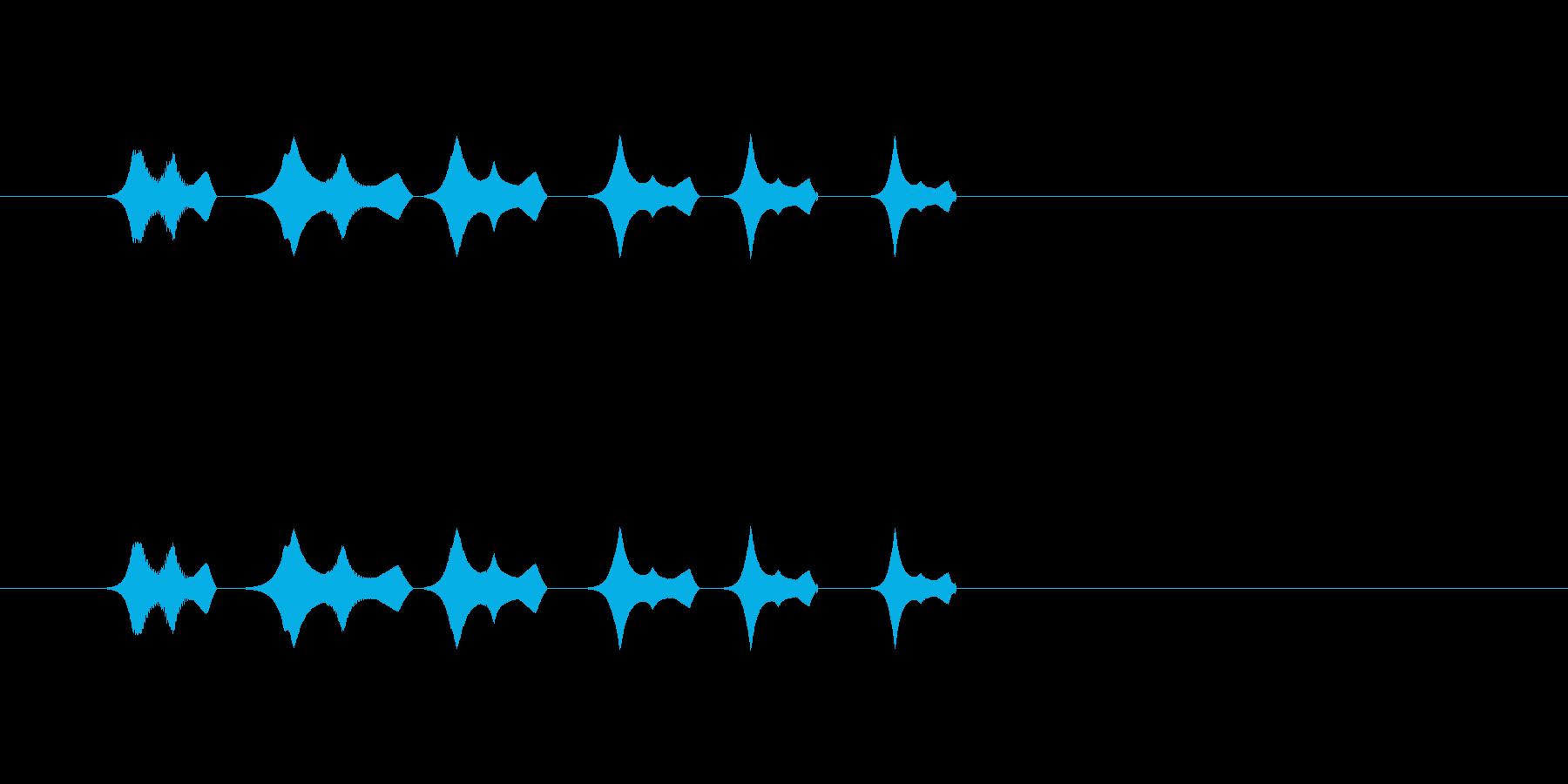 【ポップモーション34-3】の再生済みの波形