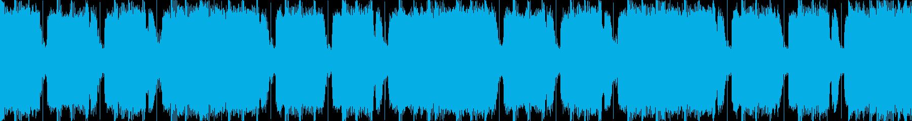 ロックンロール ジングル ループの再生済みの波形