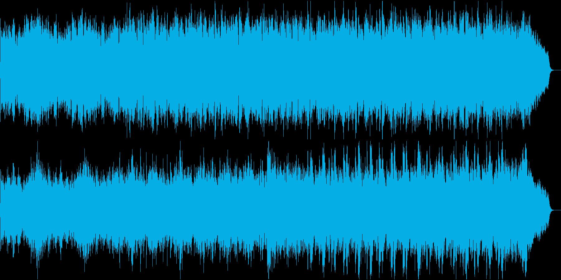 和風:日本の風情・情緒④ピアノと弦のみの再生済みの波形