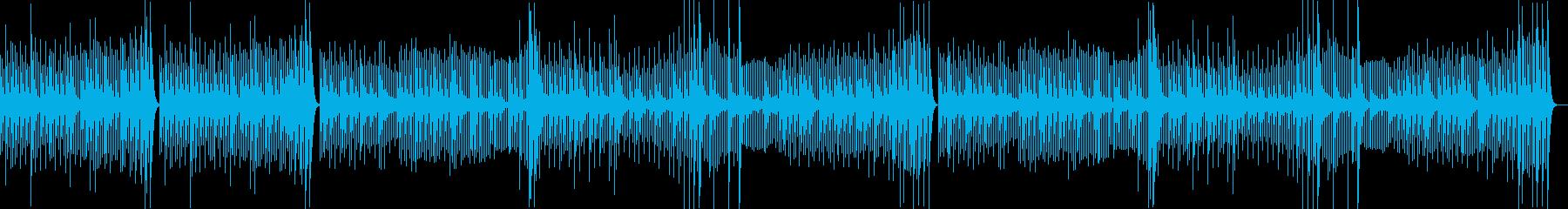 調理シーン向けのクラシック曲02の再生済みの波形