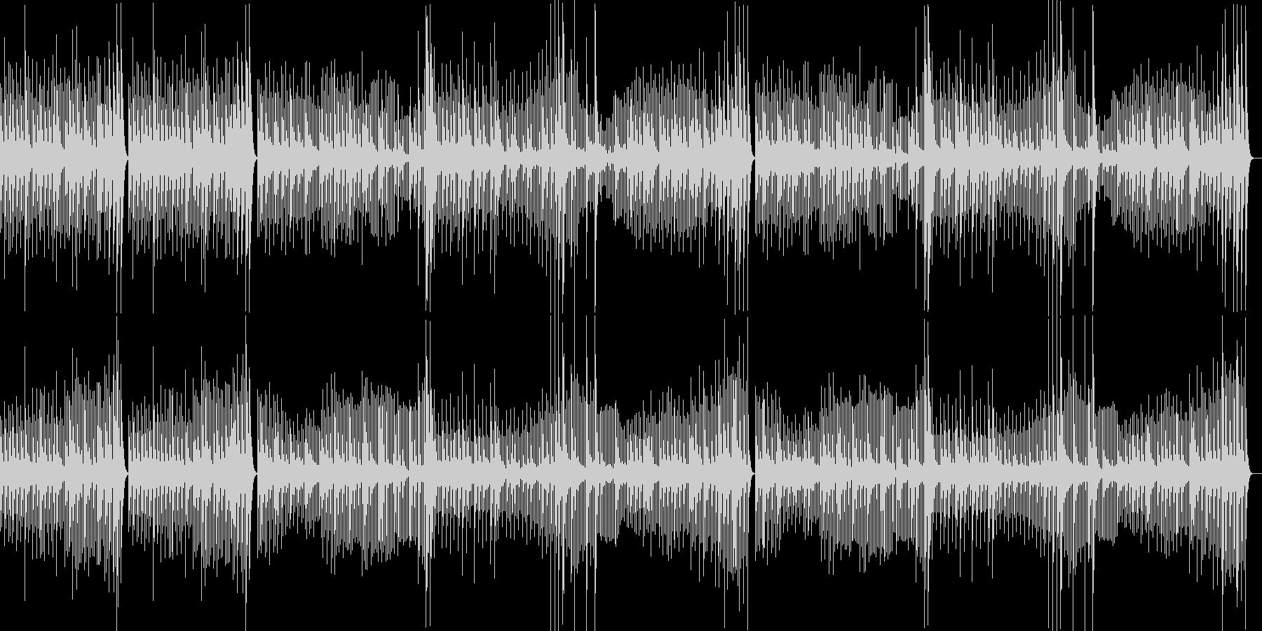 調理シーン向けのクラシック曲02の未再生の波形