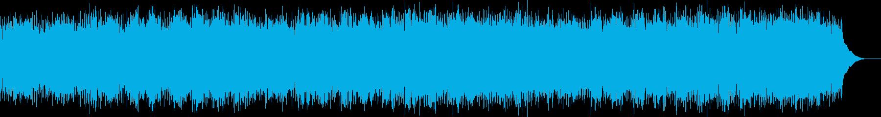 柔らかな足の再生済みの波形