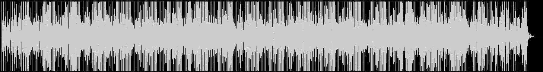 ポップでエレクトロなホラー/ハロウィンの未再生の波形