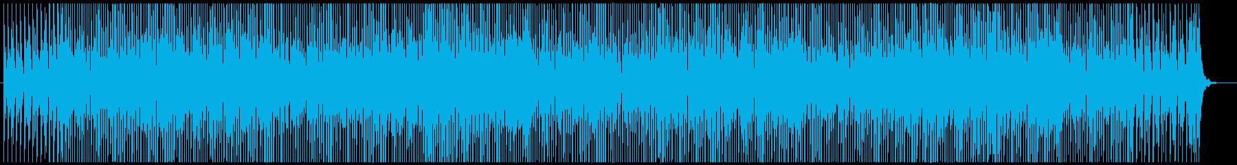 ポップでエレクトロなホラー/ハロウィンの再生済みの波形