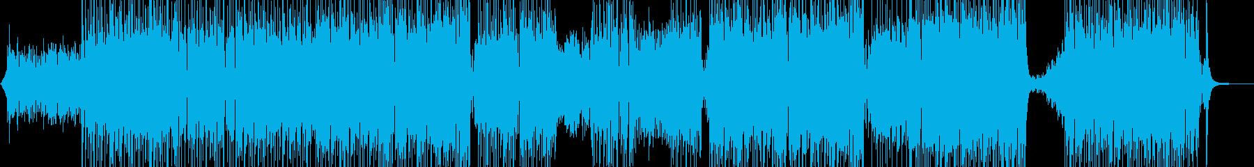 メルヘンな演出・ゆめかわポップス 長尺+の再生済みの波形